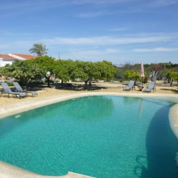 Our Beautiful Pool In Vera Spain