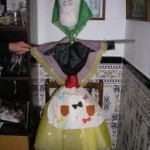 piñata of old lady