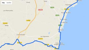 La Vuelta route