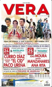 Vera Fiesta Bullfight 2017
