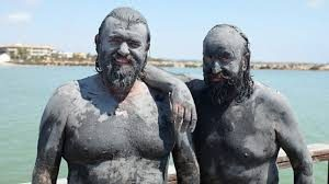 Hairy Bikers Mud Bathing