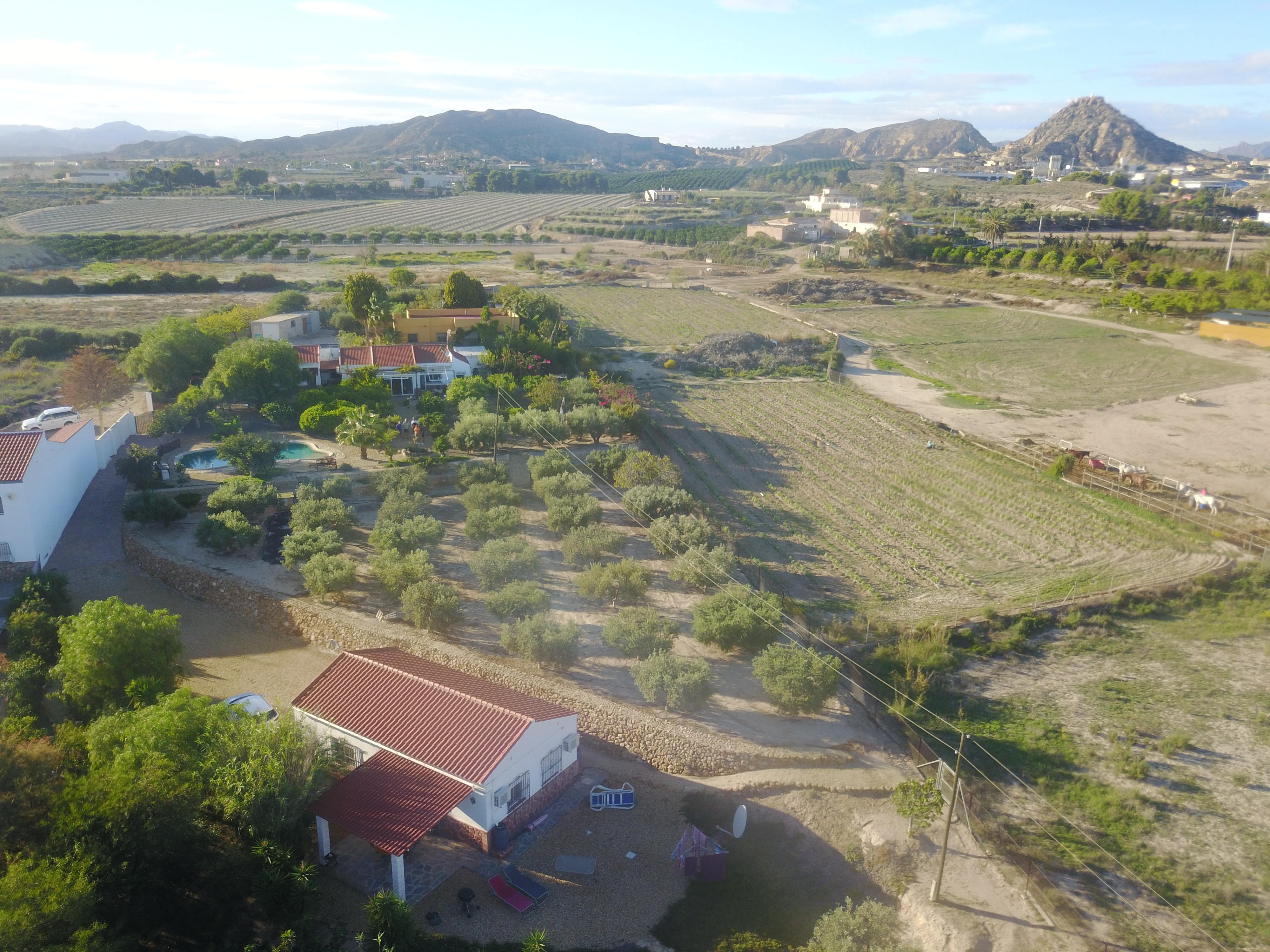 Finca Arboleda Aerial shot